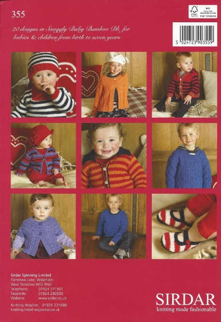 Sirdar Book 355 Little Stars In Stripes Sirdar Snuggly